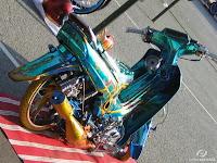 gambar modifikasi motor ceper
