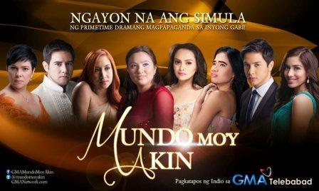 "Mundo Mo'y Akin"" also marks the first TV series of Lauren Young as"