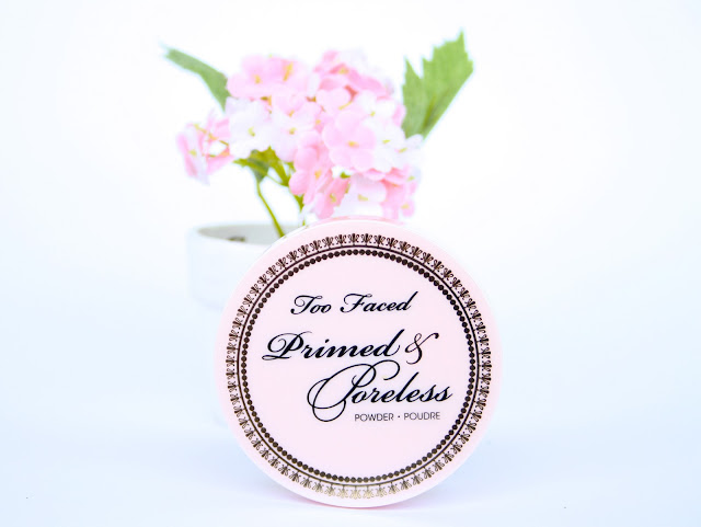 too faced primed and poreless powder