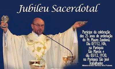 Jubileu Sacerdotal de Pe. Mauro