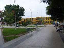 Plaza de armas de Casma.