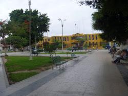 Plaza de armas de Casma.