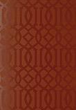 Schumacher Imperial Trellis Cinnabar Gloss 2707214
