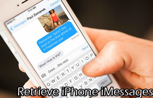 recover deleted imessages from iPhone