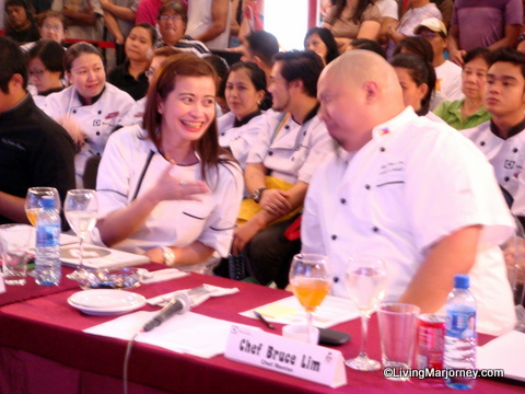 Wokaholic Chef Rosebud and Bruce Lim
