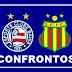 Todos os confrontos: Bahia x Sampaio Correa