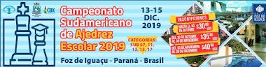 Campeonato Sudamericano de Ajedrez Escolar 2019 (Dar clic a la imagen)