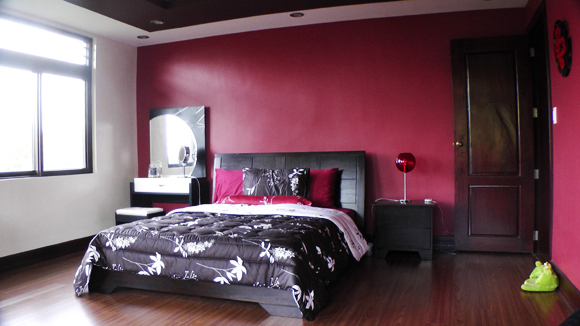 Ada no nikki new layout and resthouse room tour for Maroon bedroom designs