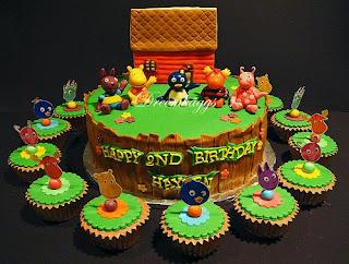 Backyardigans Birthday Cake Toppers