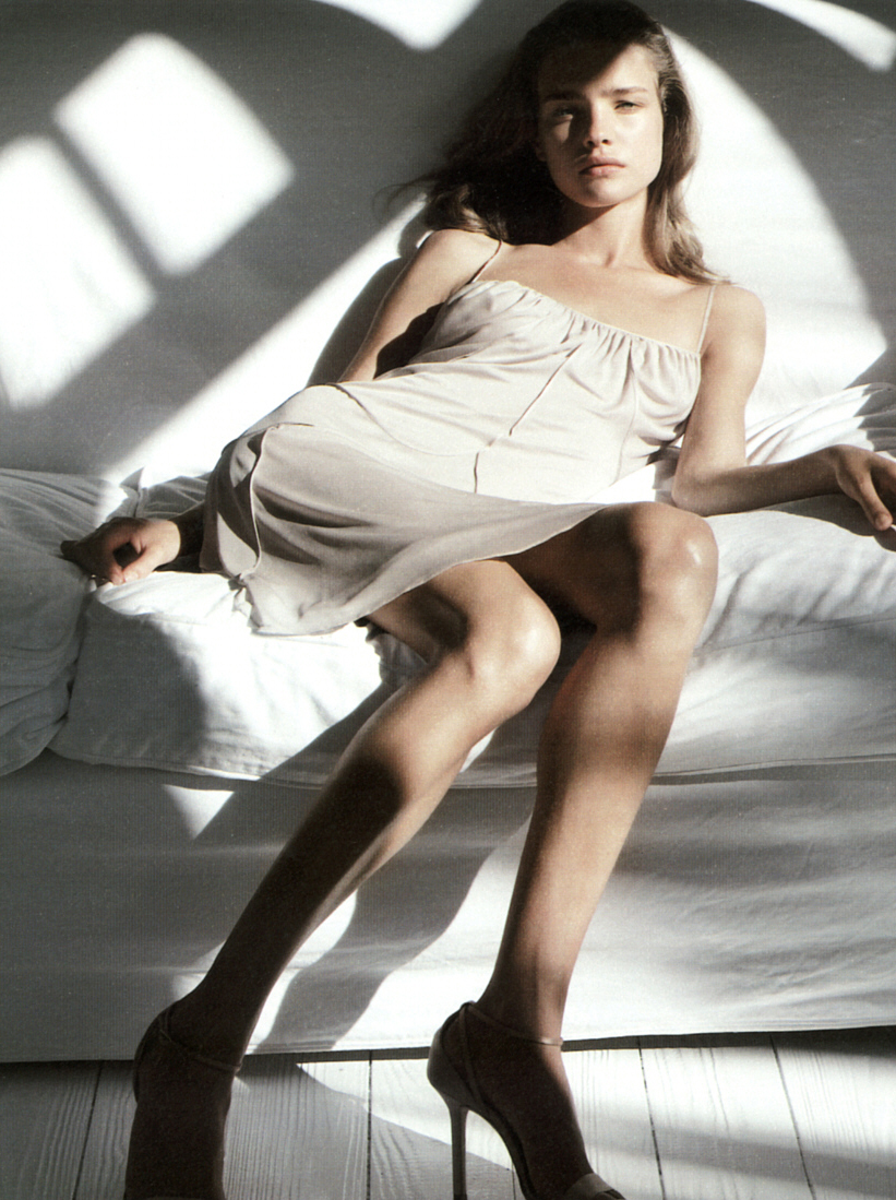 Natalia Vodianova in Calvin Klein SS 2003 campaign via www.fashionedbylove.co.uk