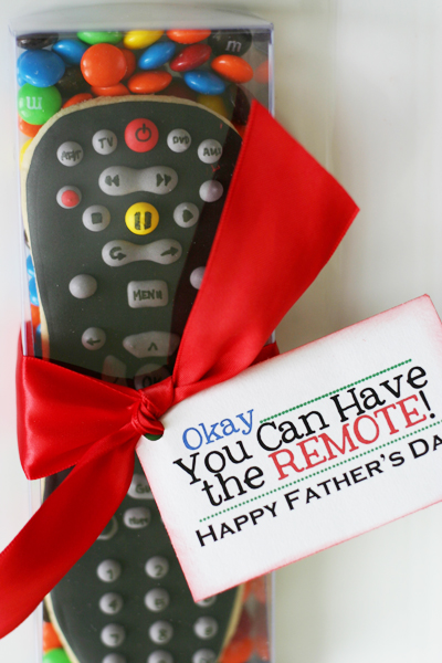 Fathers Day Remote Cookie