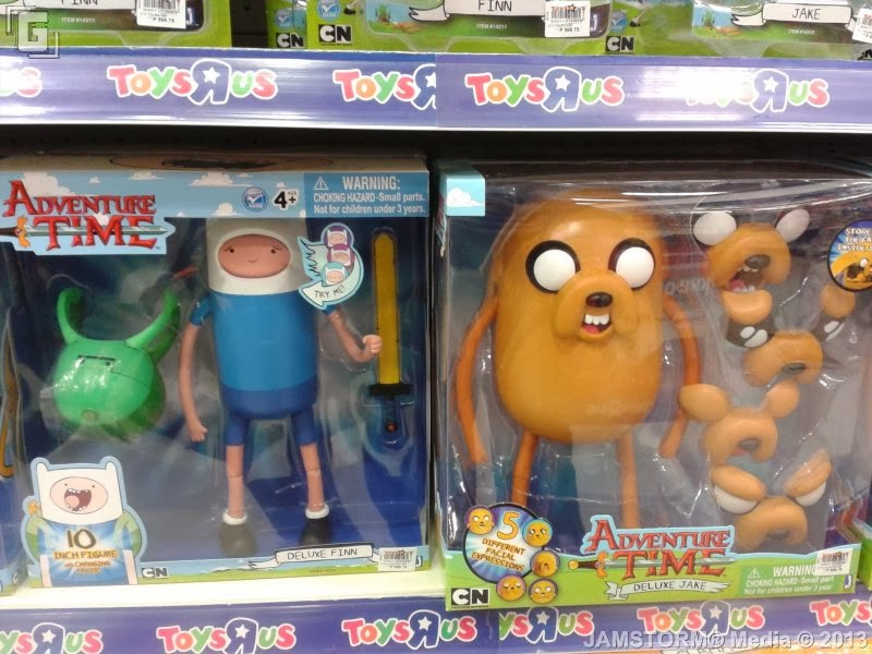 Toys And Adventures : Geekmatic toy sightings adventure time