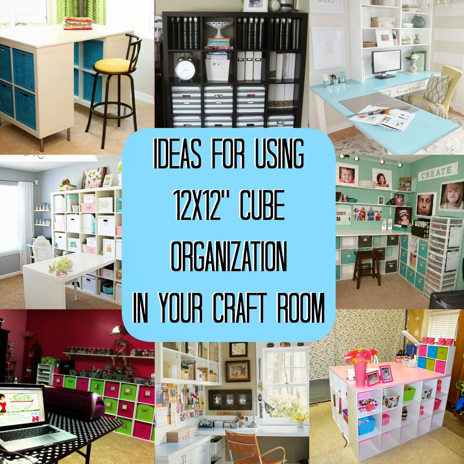 Craft room organization on a budget - Storage For Craft Room Storage For Craft Room Craft Room Organization With 12x12 Cubes