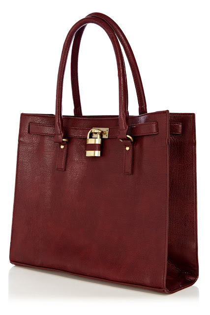 padlock shopper bag