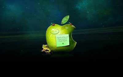 Wallpapers para fans de Apple Macintosh (7 imágenes)