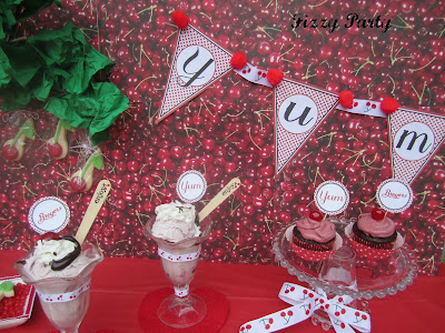 Cherry party-Printables