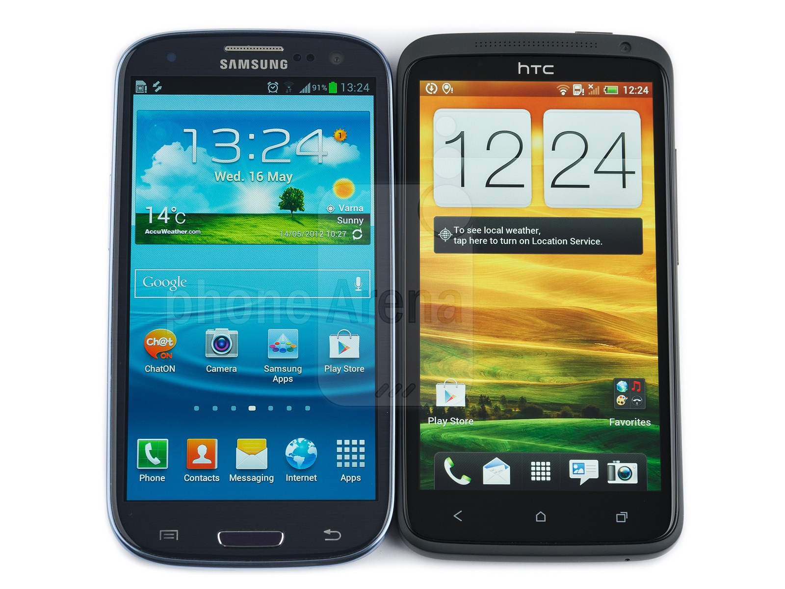 Samsung Galaxy S II vs. The HTC One X