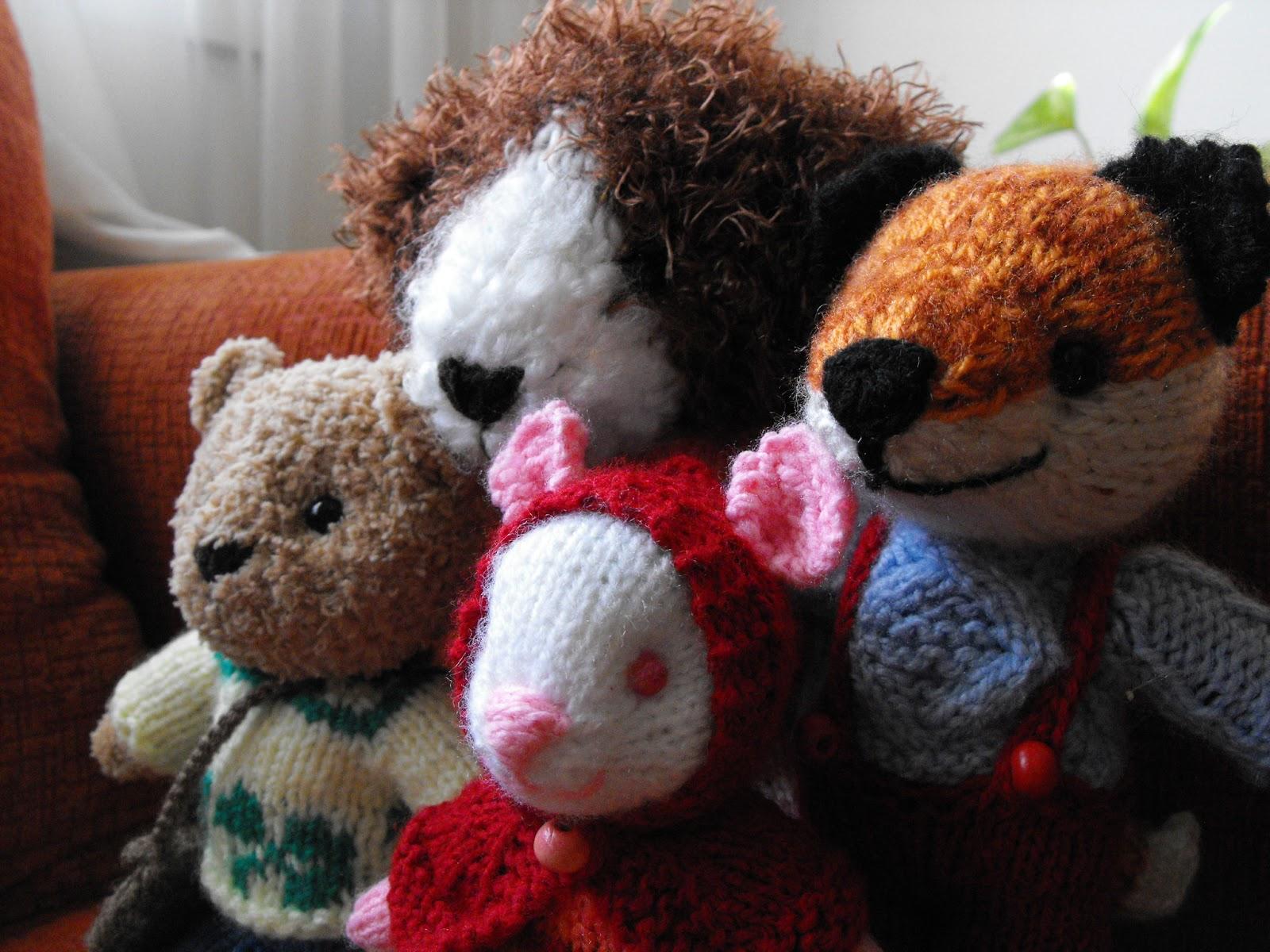 Irka!: Patrón Gratis! - Animalitos Tejidos y Vestidos
