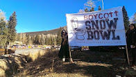 Protests as 'Sewage Bowl' opens on Sacred Mountain
