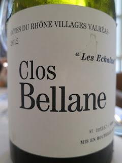 Clos Bellane Les Echalas 2012 - AC Côtes du Rhône Villages Valréas, France (91 pts)