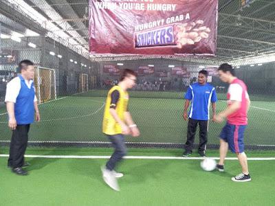 Snickers Malaysia campaign launch 2012 Harimau Malaya Kunanlan played futsal