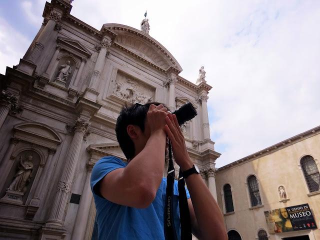 Venice museum photographer
