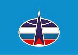 Bandera de las Fuerzas Espaciales de Rusia