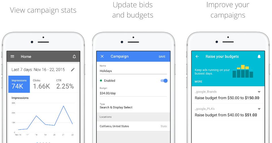 AdWords iOS App
