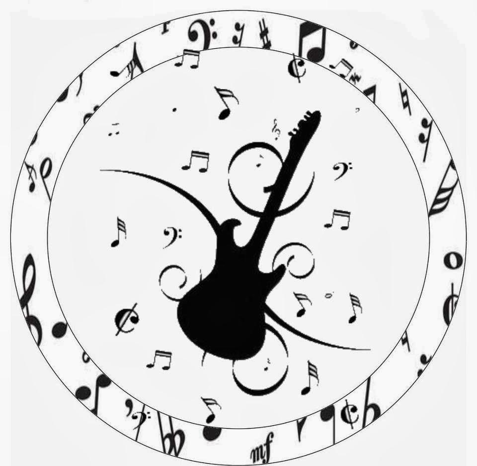Fazendo a Propria Festa KIT DE ARTES PERSONALIZADAS BALADA OU MUSICA
