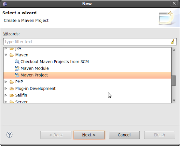 Create Maven Project