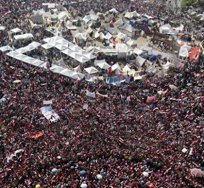 Oposisi Kepung Istana Mesir Tuntut Moursi Lengser