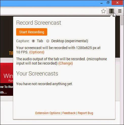 Quay video màn hình đơn giản với Screencastify