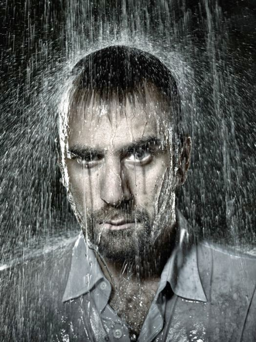 Ventilador con agua.... Hombre+mojado1
