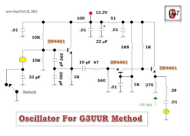 My current oscillator schematic