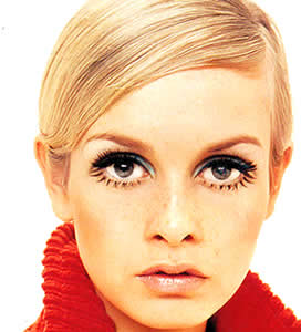 Twiggy eyelashes