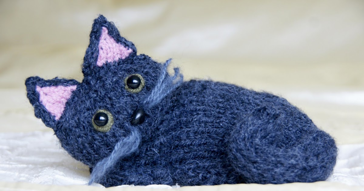 SINCERELY LOUISE: Free Knitting Kitty Cat Pattern