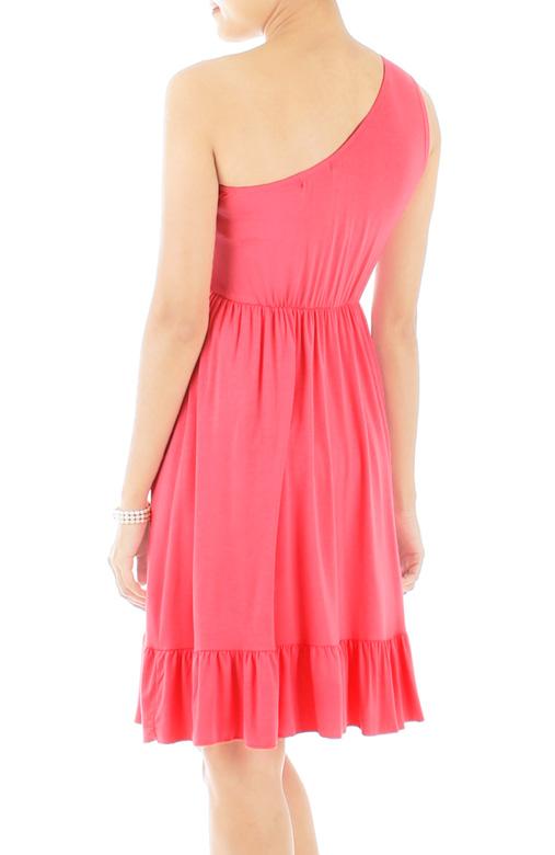 Love Soiree Dress in Geranium Pink