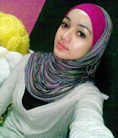 Gadis Melayu Cun Bertudung