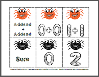 https://www.teacherspayteachers.com/Product/Spider-Addition-with-Doubles-329059