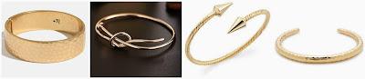 Madewell Drumline Hinge Cuff Bracelet $16.50 (regular $24.00) Team Pastor Boutique Adjustable Knot Bracelet $23.00 Jules Smith Designs Zoe Spike Wrap Bracelet $39.99 (regular $59.00) J. Crew Hammered Round Cuff Bracelet $54.99 (regular $75.00)