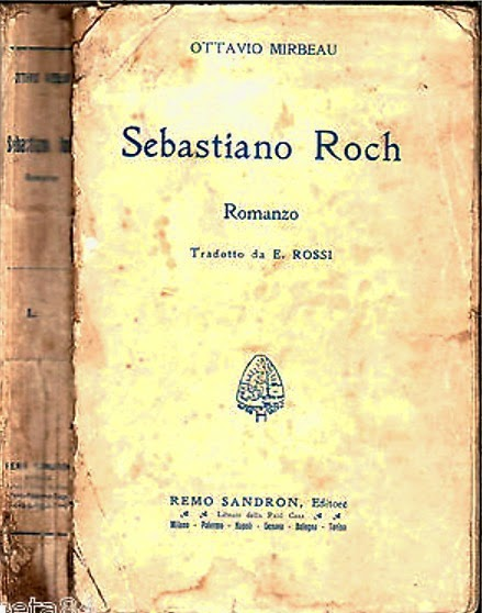 "Traduction italienne de ""Sébastien Roch"", 1910"