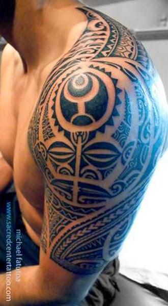 Amazing Polynesian Tattoos Design
