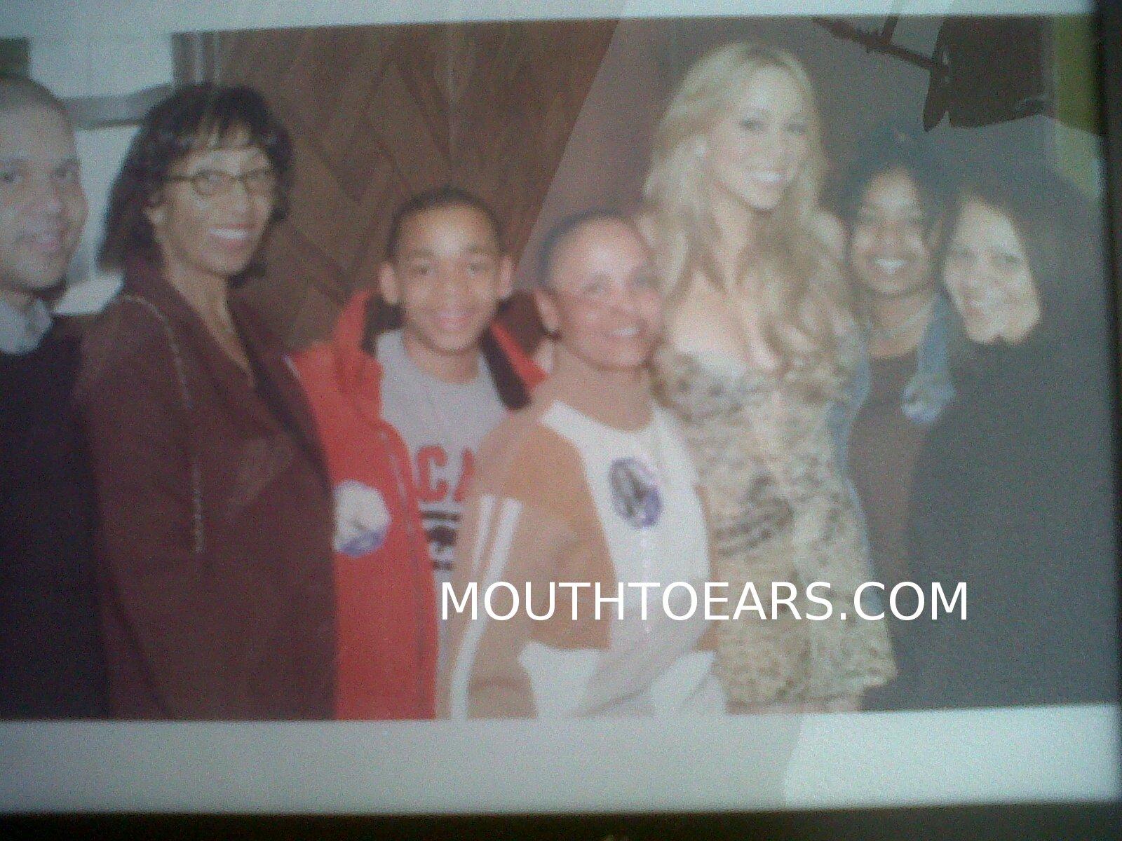 Benny Medina Quentin Katrina And Mariah Carey
