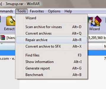 Repair Archive RAR and ZIP