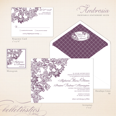 vintage vineyard winery theme printable diy wedding invitation stationery