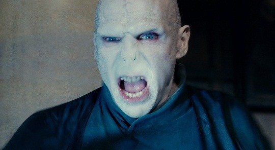 Ralph Fiennes Lord Voldemort
