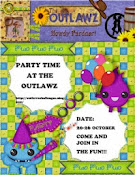 Party at The Outlawz soon.........  Hope you will join us?
