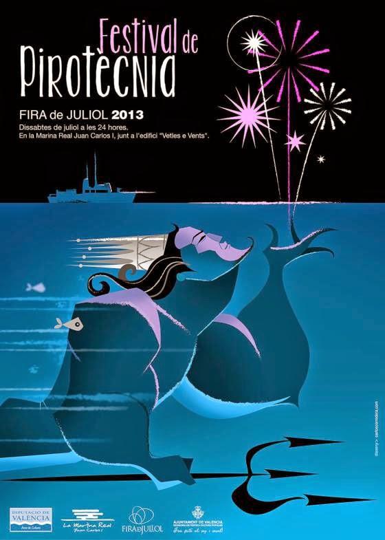FESTIVAL+PIROTECNIA+FERIA+DE+JULIO+2013.