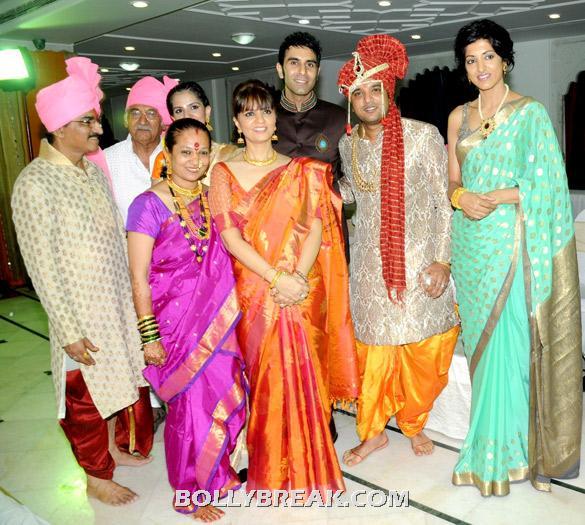 , All Celebs @suraj Godambe & Monali's Wedding