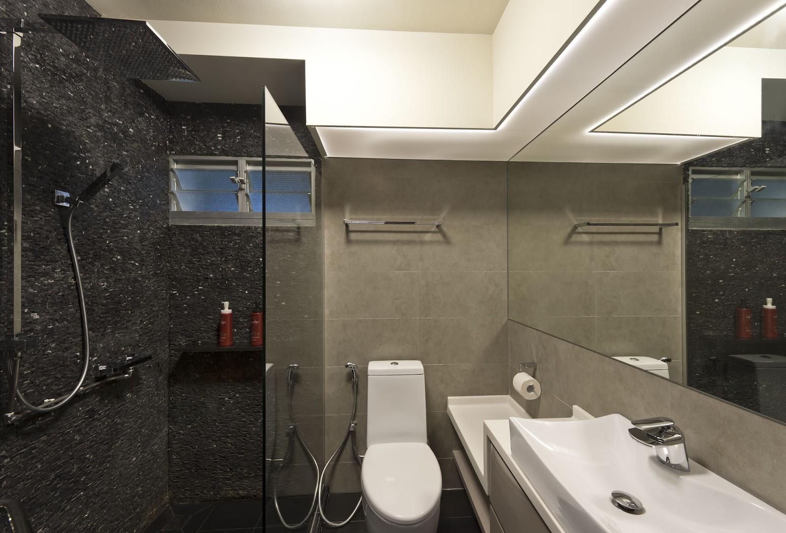 Rezt relax interior design 4 room hdb yishun for Toilet renovation design